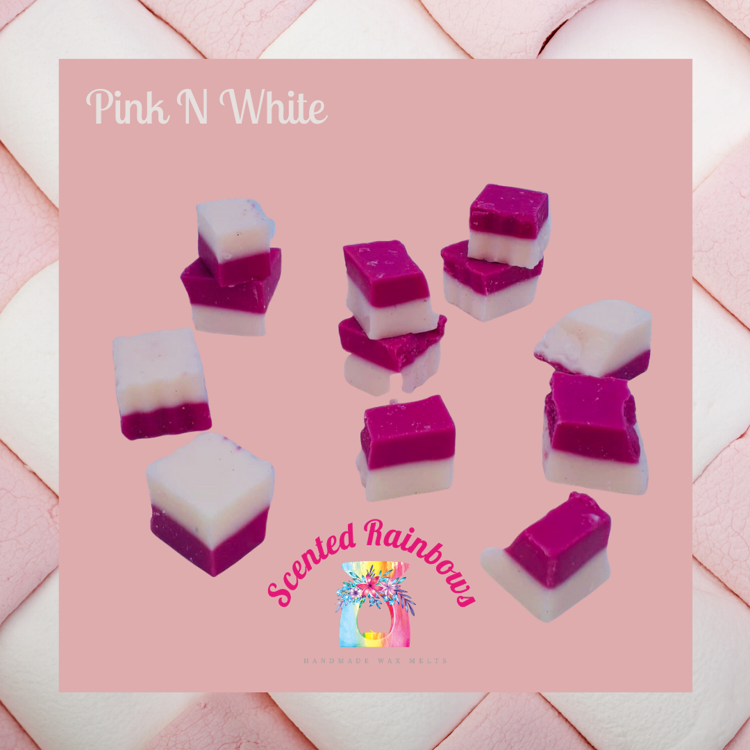 Pink & White Chunkies