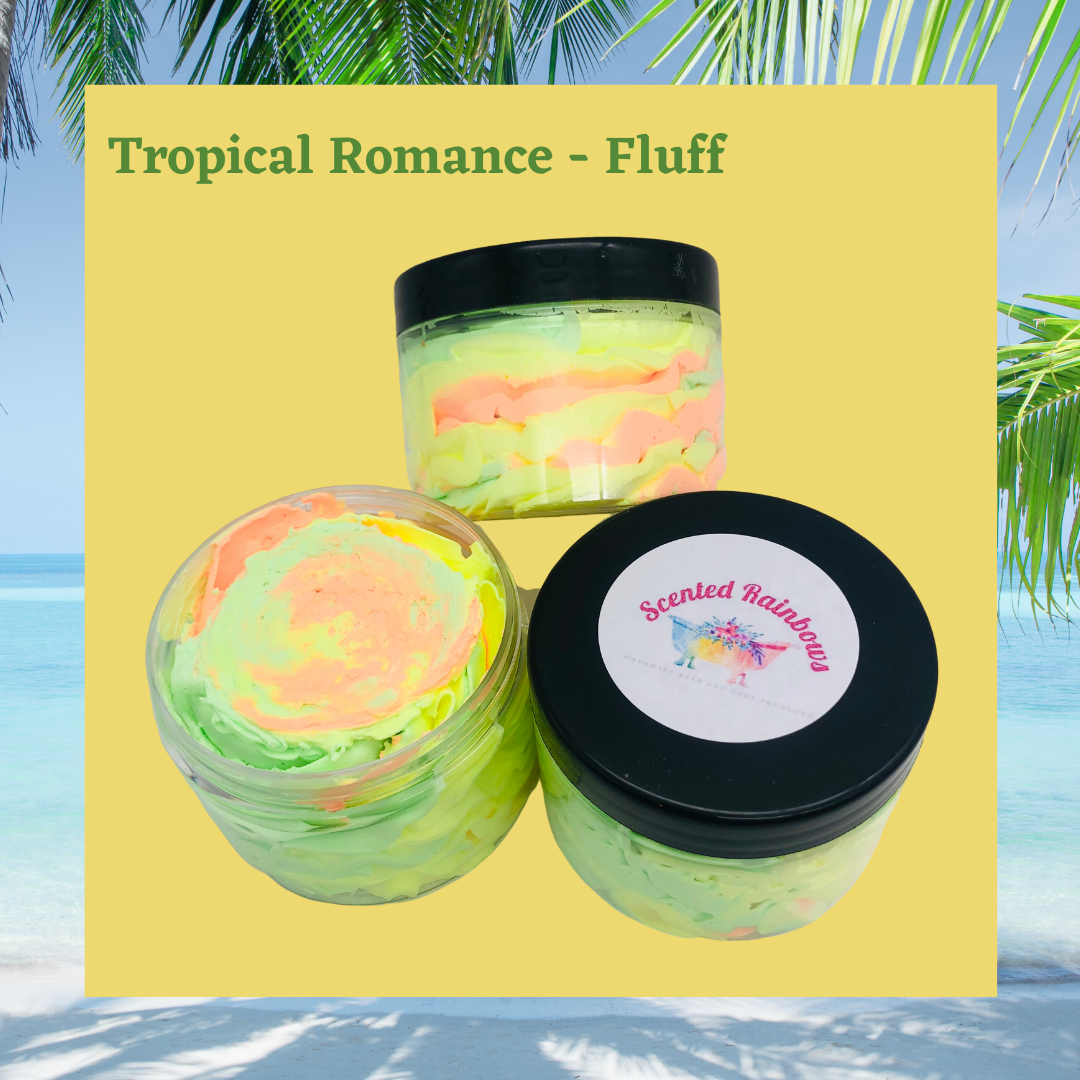 Tropical Romance Shower Fluff