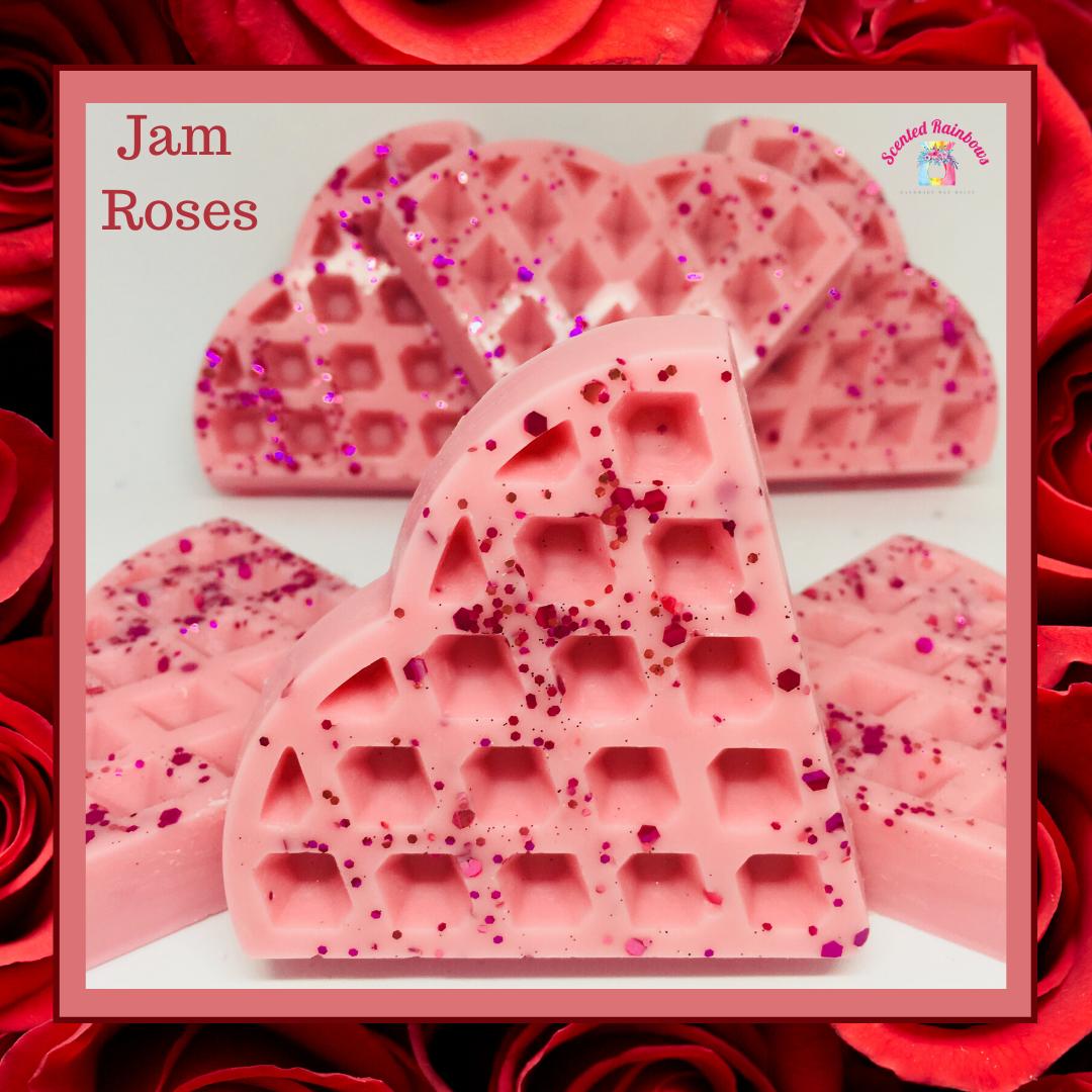 Jam Roses Waffle
