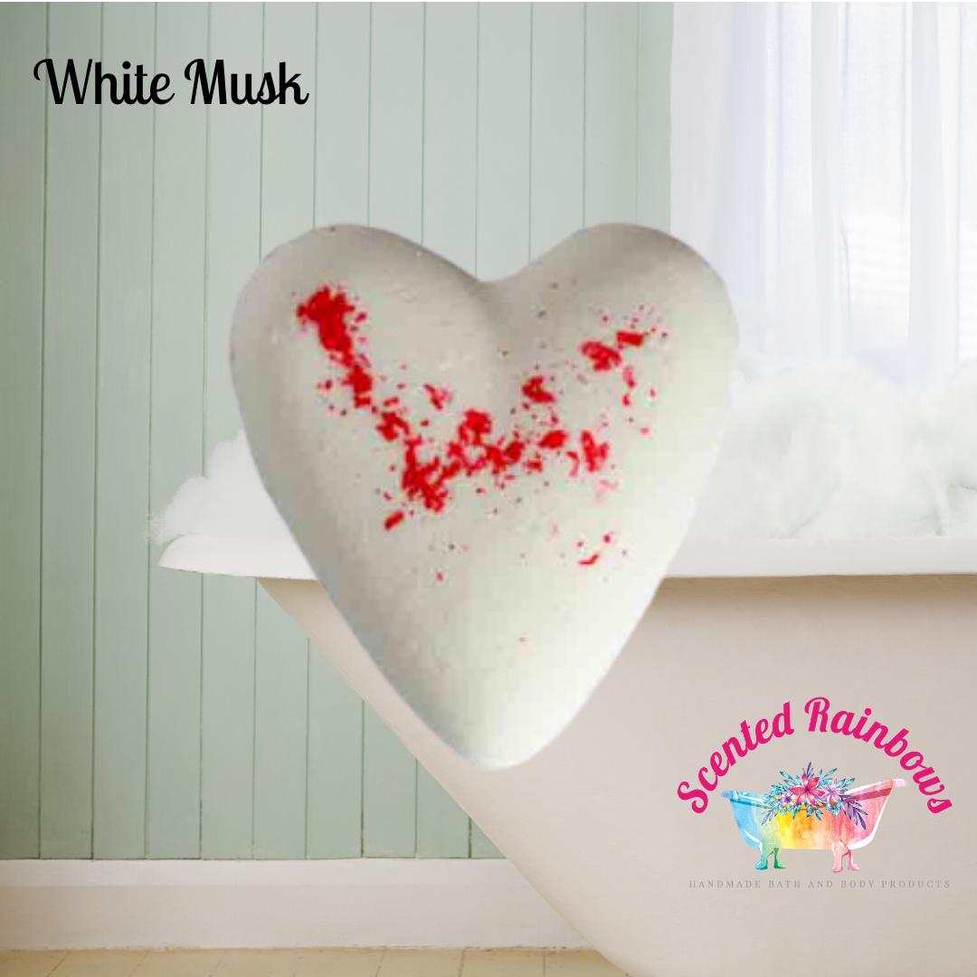 White Musk Heart Bomb