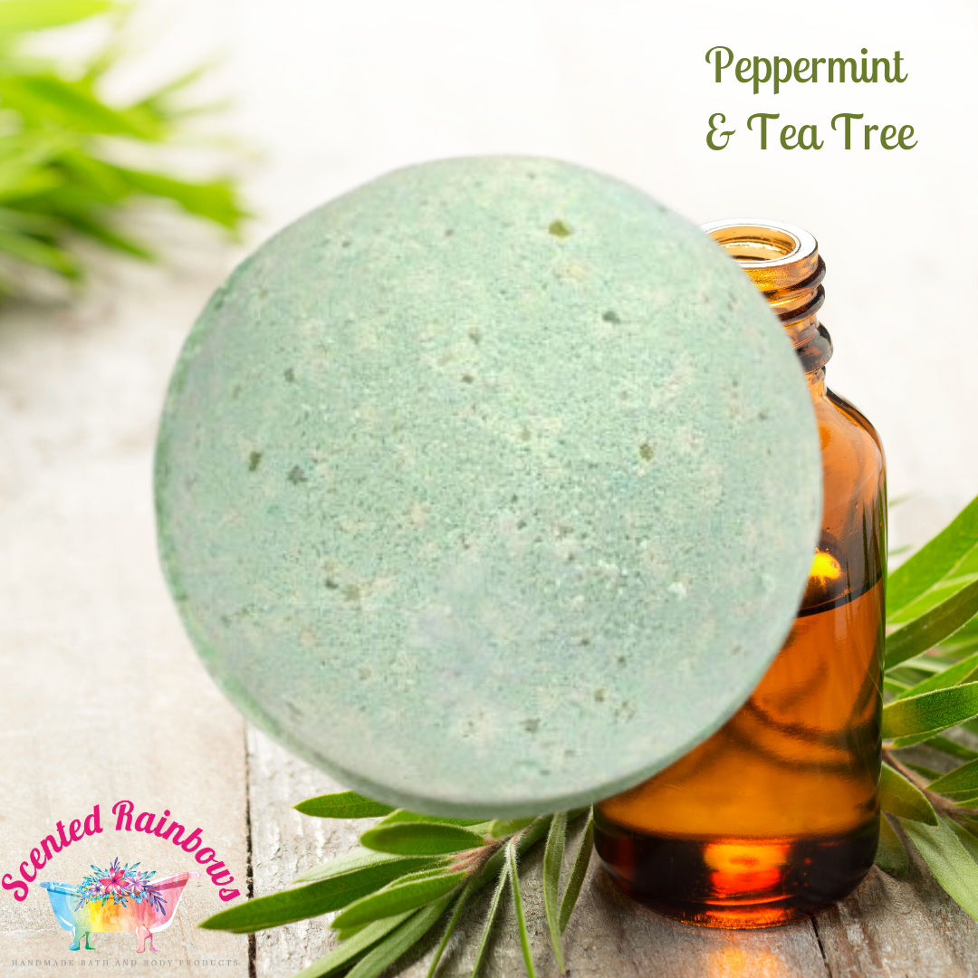 Peppermint & Tea Tree Bath Bomb