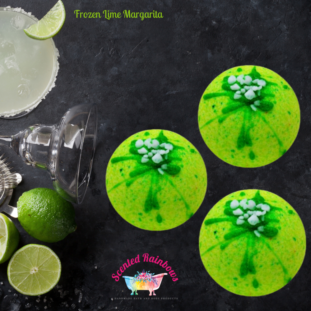 Frozen Lime Margarita Bath Bomb
