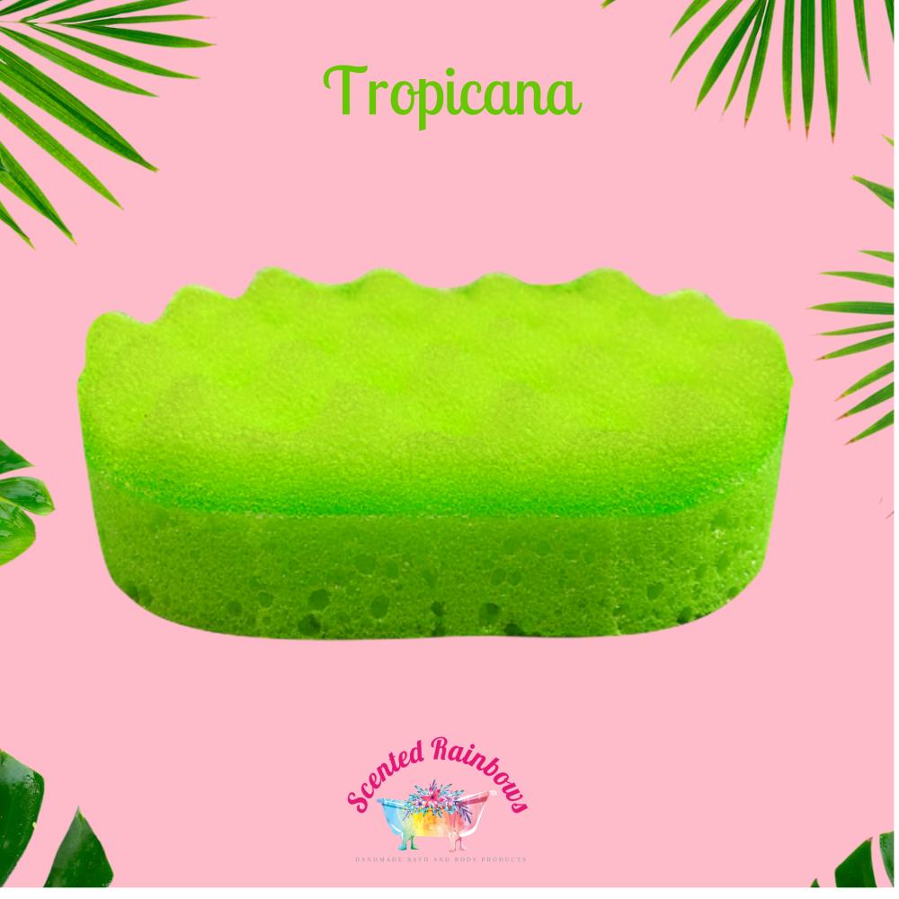 Tropicana Soap Sponge