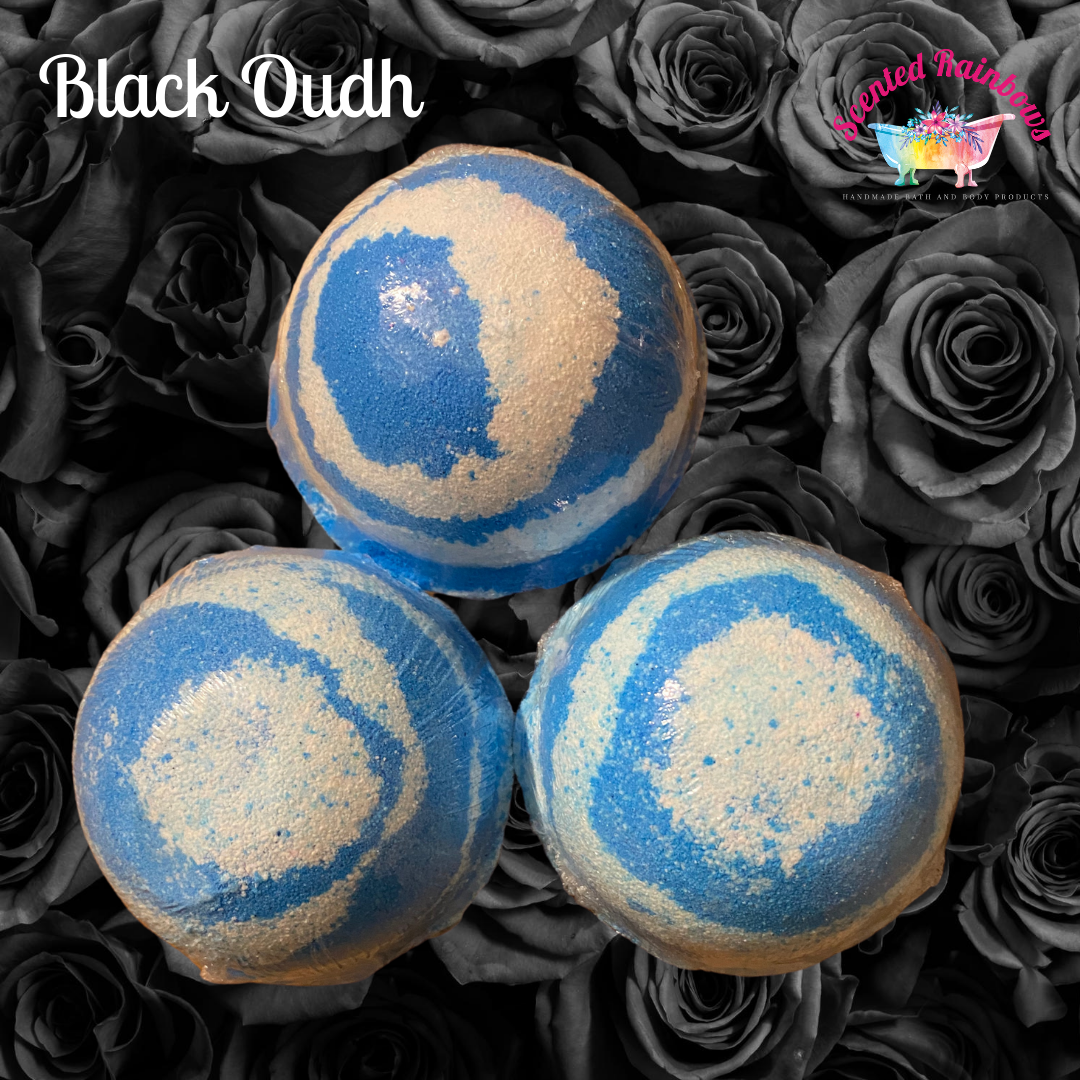 Black Oud Bath Bomb