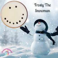 Frosty the snowman pot