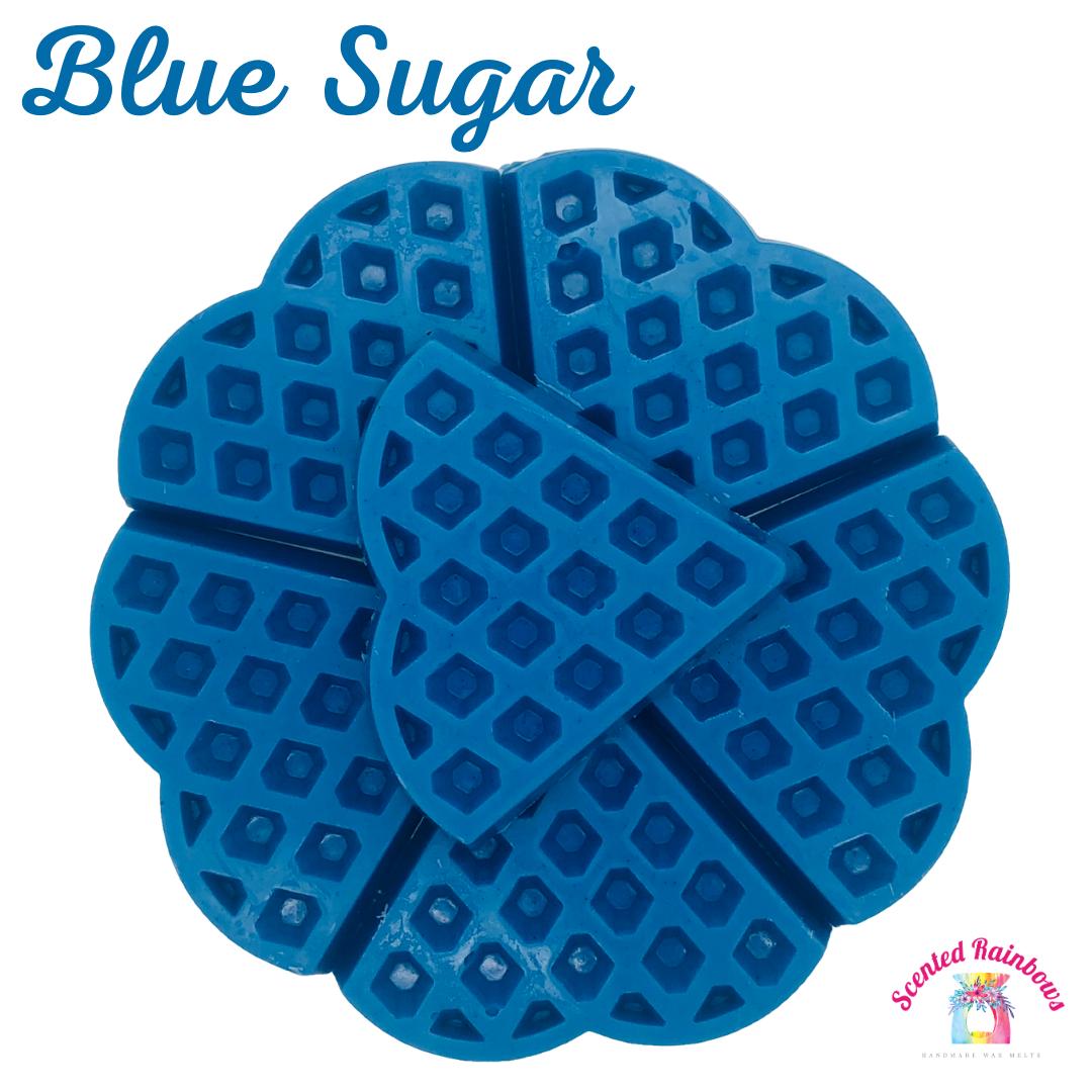 Blue Sugar Waffle