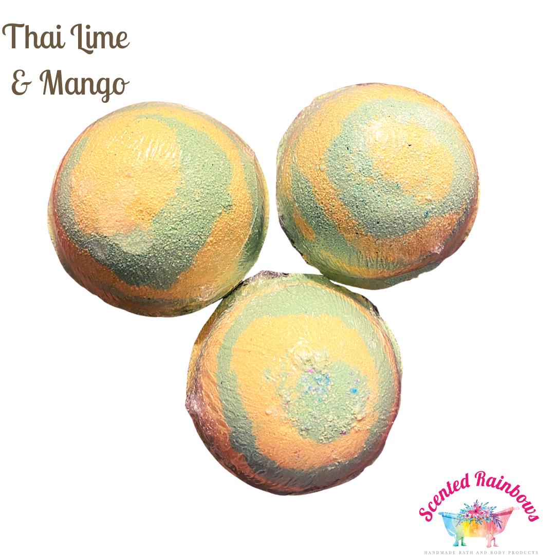 Thai Lime & Mango Bath Bomb