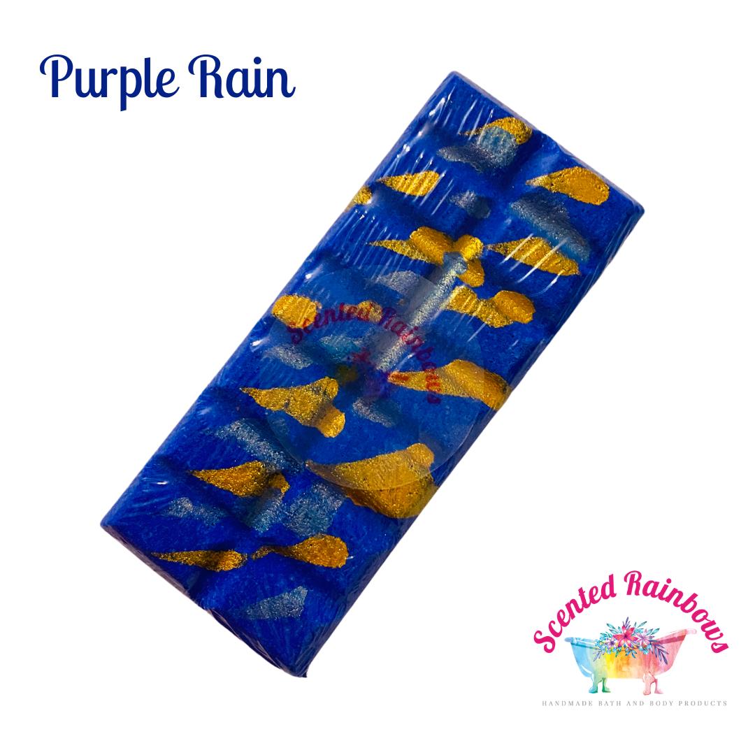 Purple Rain Bath Bomb Bar