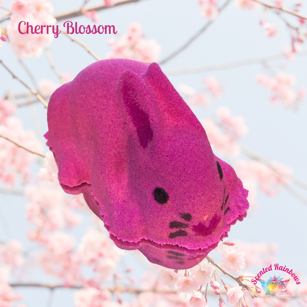 Cherry Blossom Bath Bunny