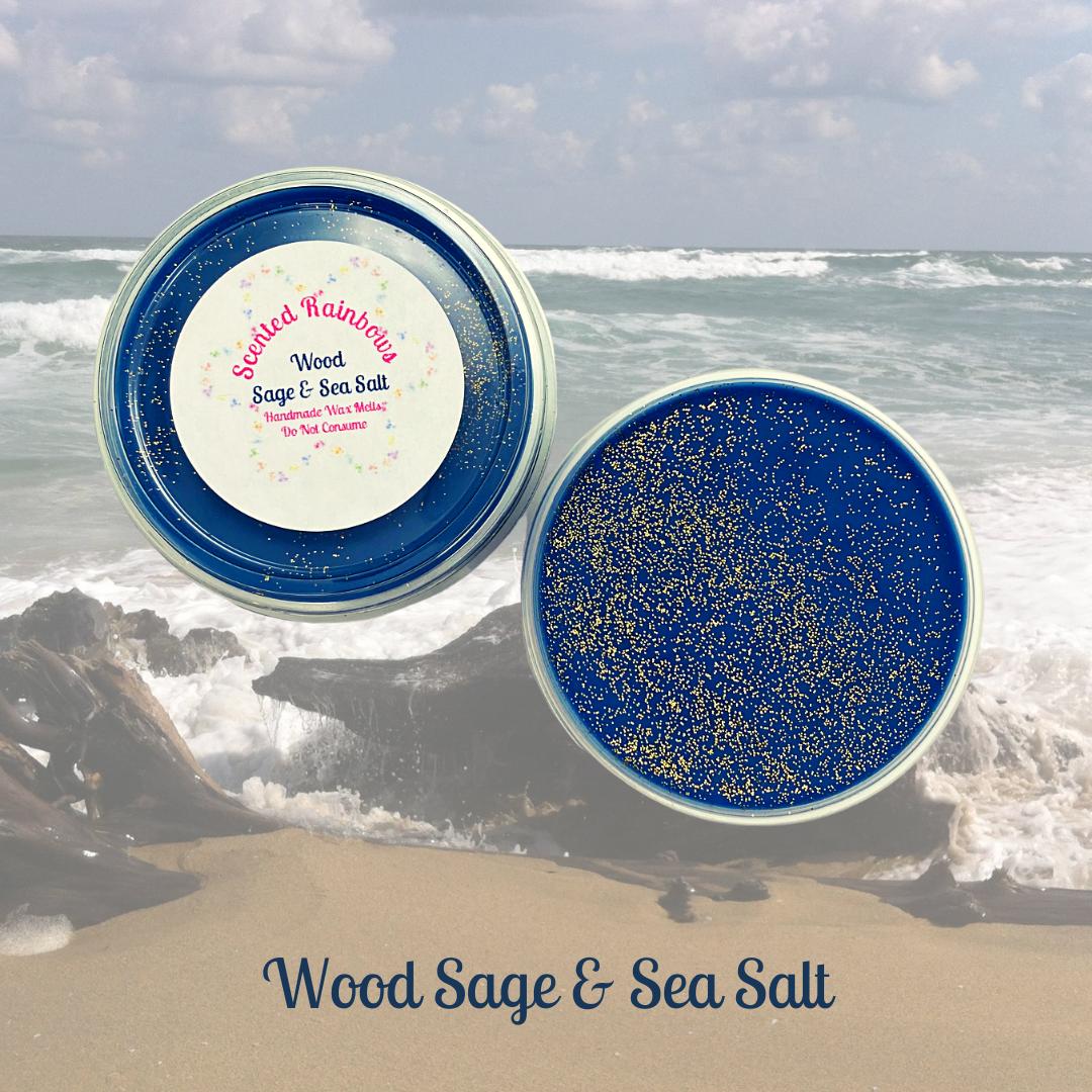 Wood Sage & Sea Salt Pot