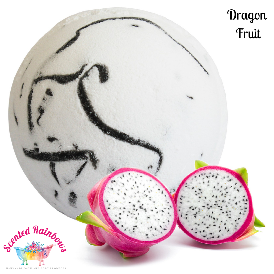 Dragon Fruit Bath Bomb