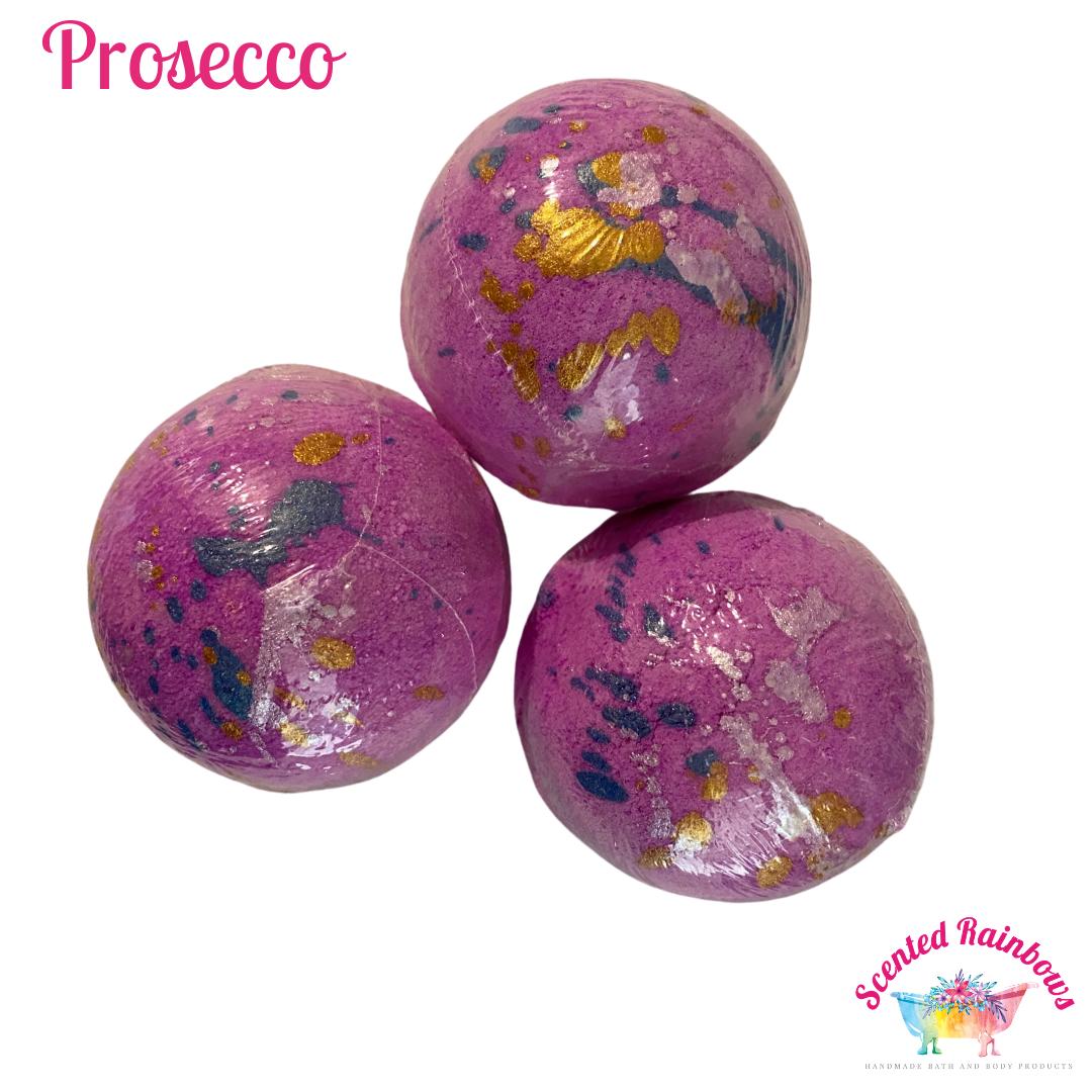 Prosecco Splatter Bath Bomb