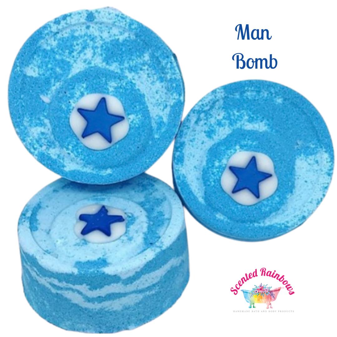Man Bomb Bath Bomb