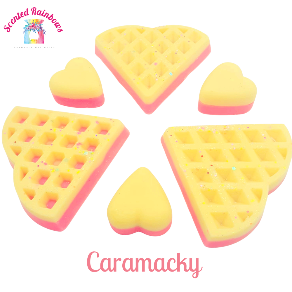Caramacky Waffle
