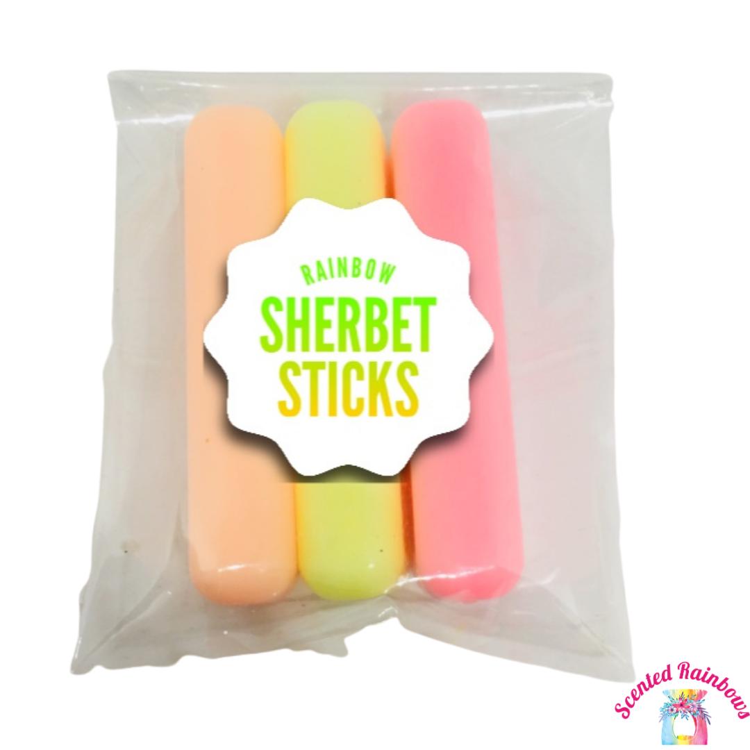 Rainbow Sherbet Sticks