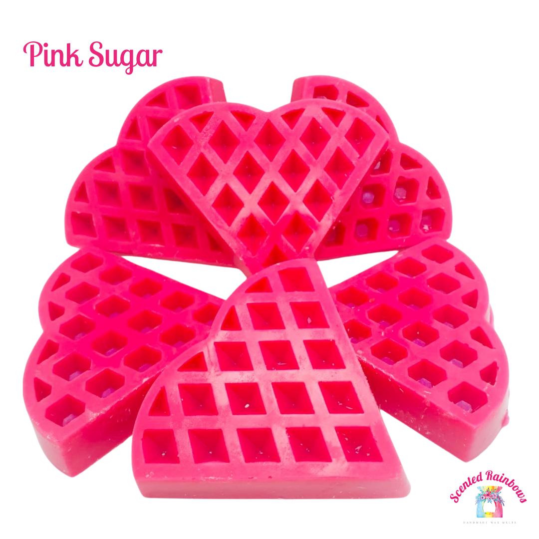 Pink Sugar Waffle