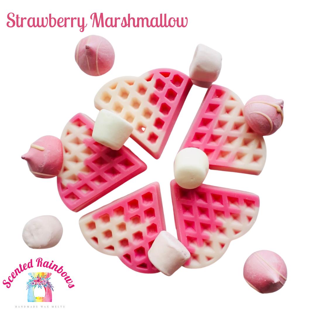 Strawberry Marshmallow Waffle