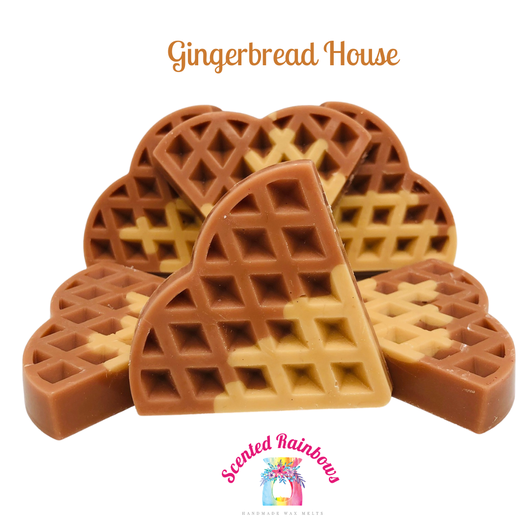 Gingerbread House Waffle