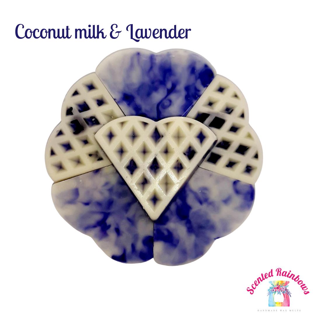 Coconut Milk & Lavender Waffle