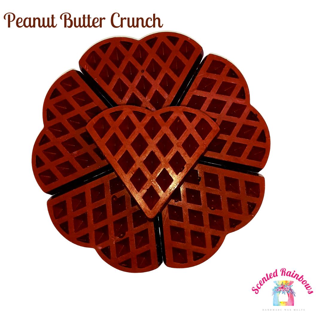 Peanut butter crunch waffle