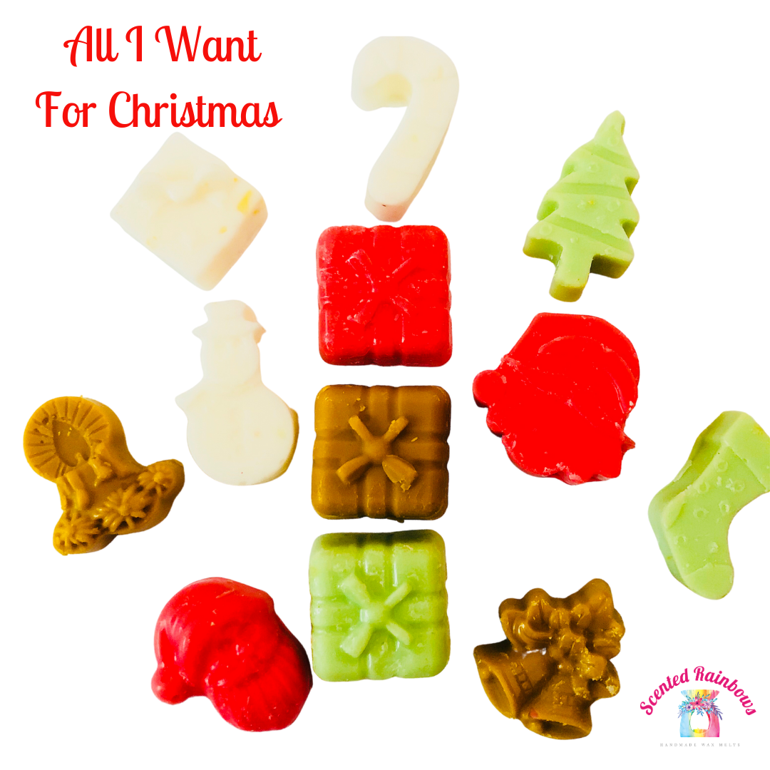 All I Want For Xmas Shapes