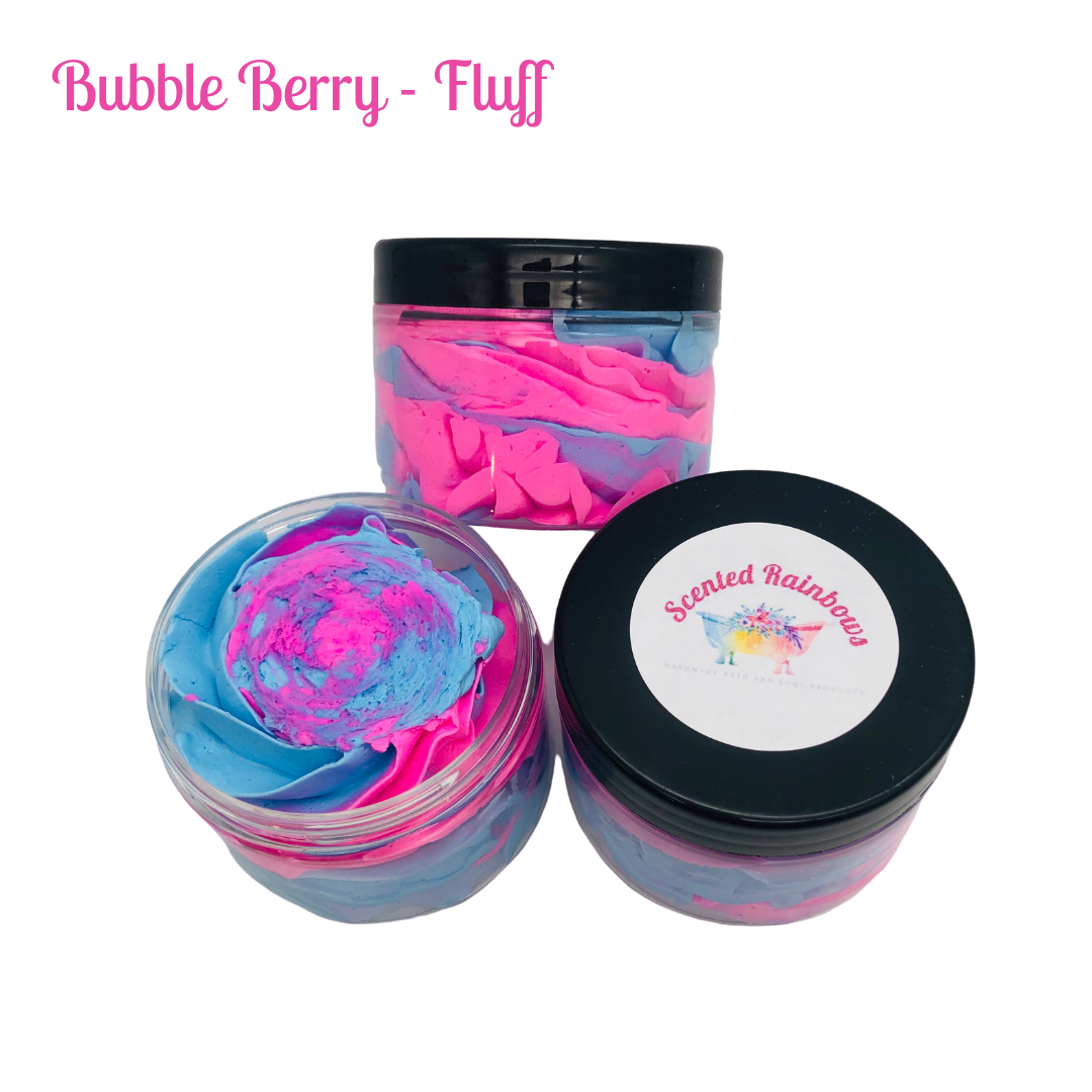 Bubble Berry Shower Fluff