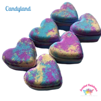 Candyland Heart Bath Bomb