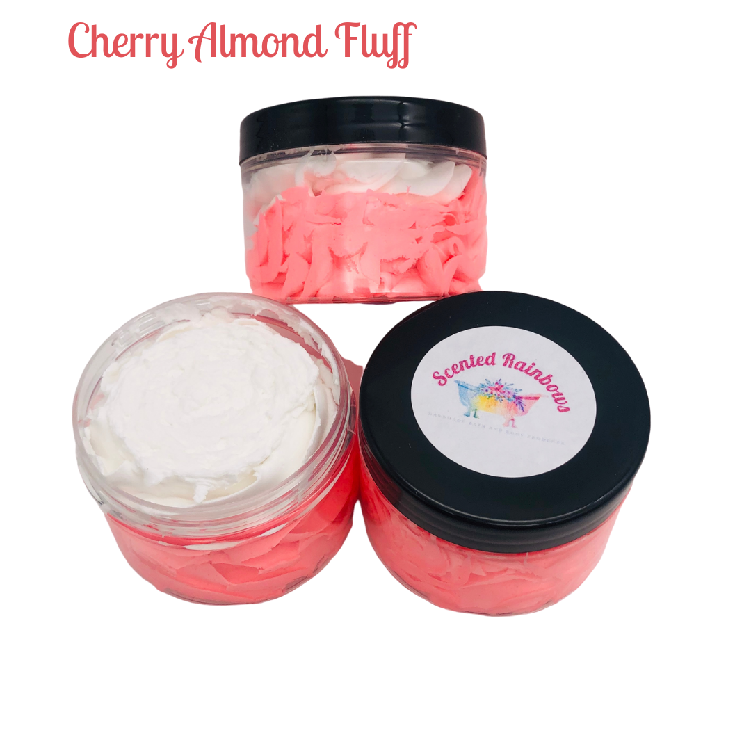 Cherry Almond Shower Fluff