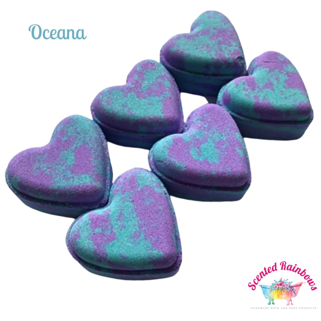 Oceana Heart Bath Bomb