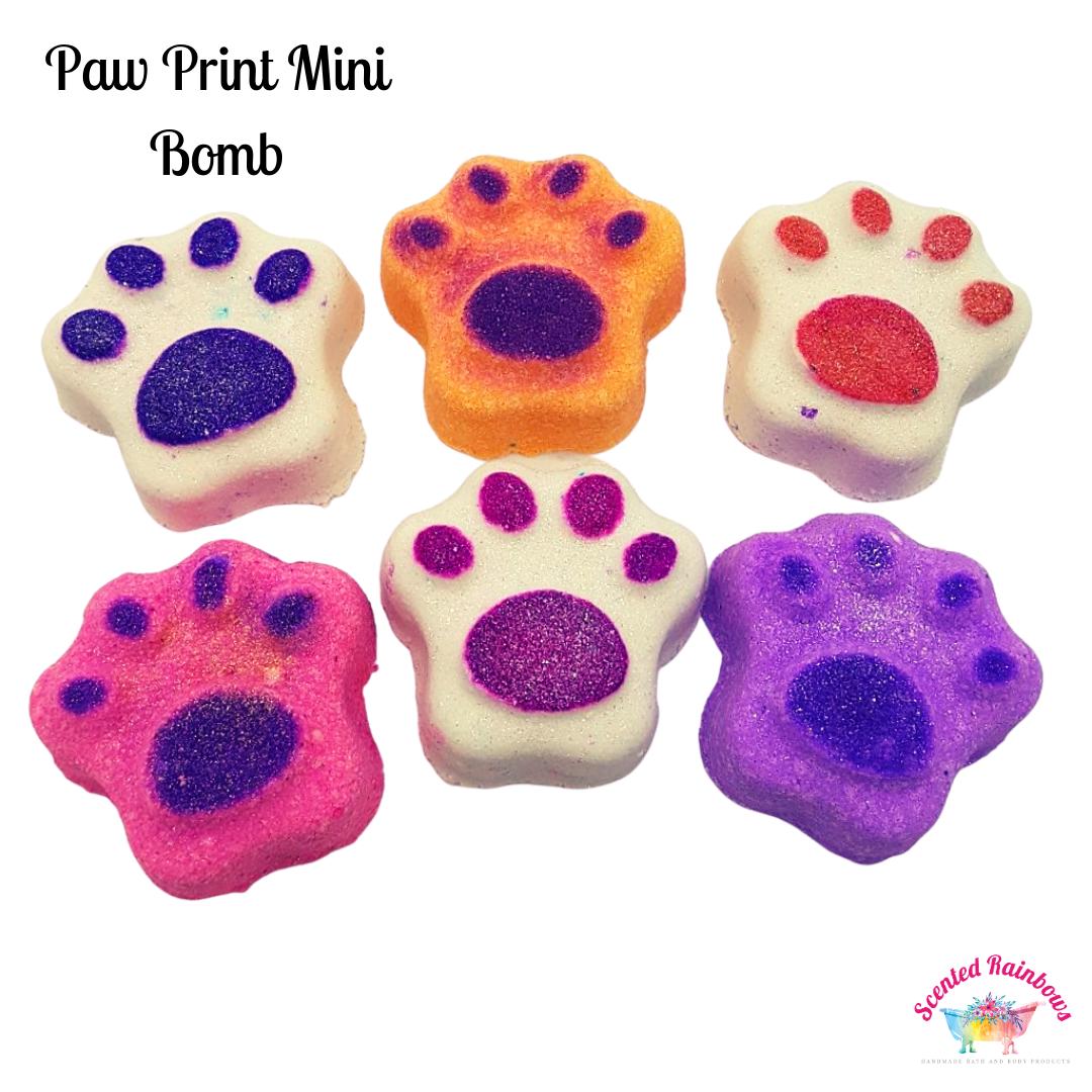 Paw Print Mini Bomb