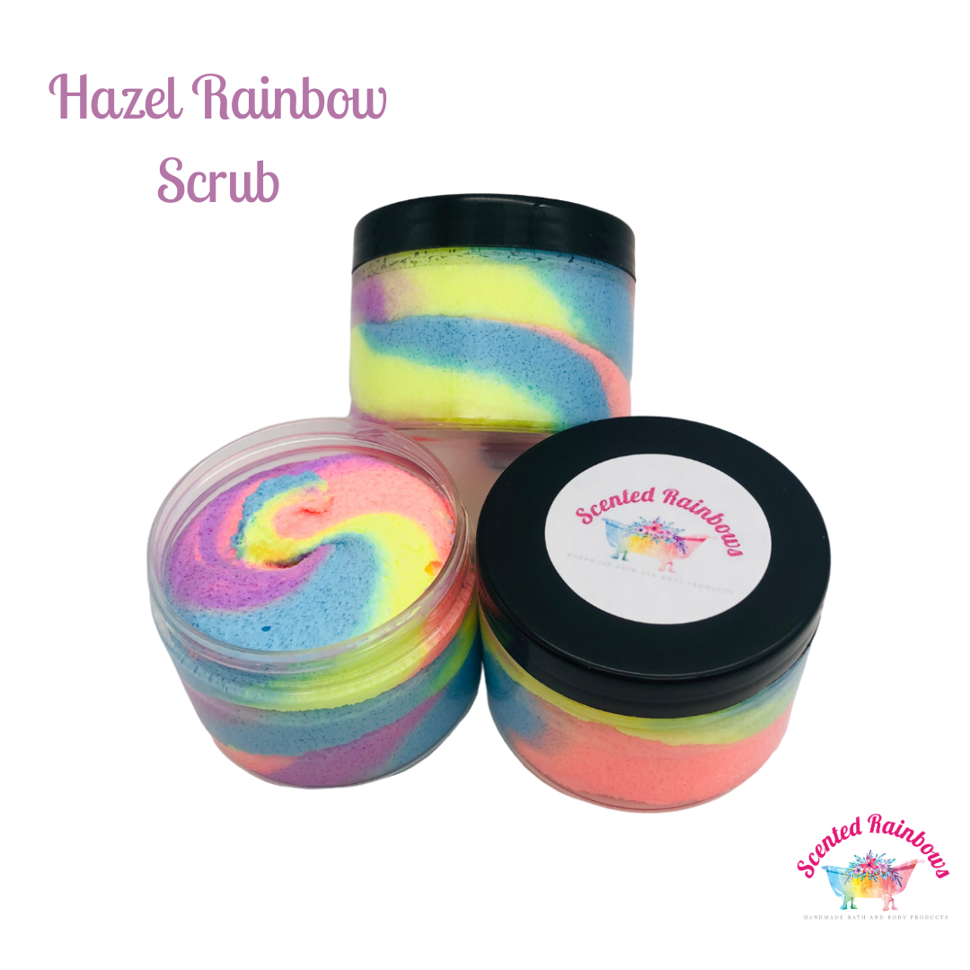 Hazel Fluff Shower Scrub