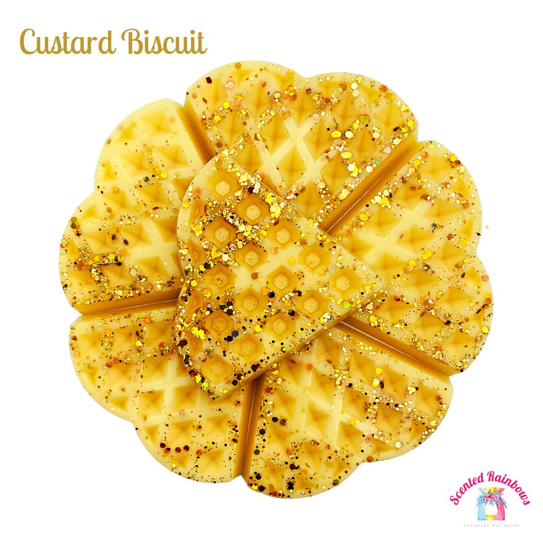 Custard Biscuit Waffle