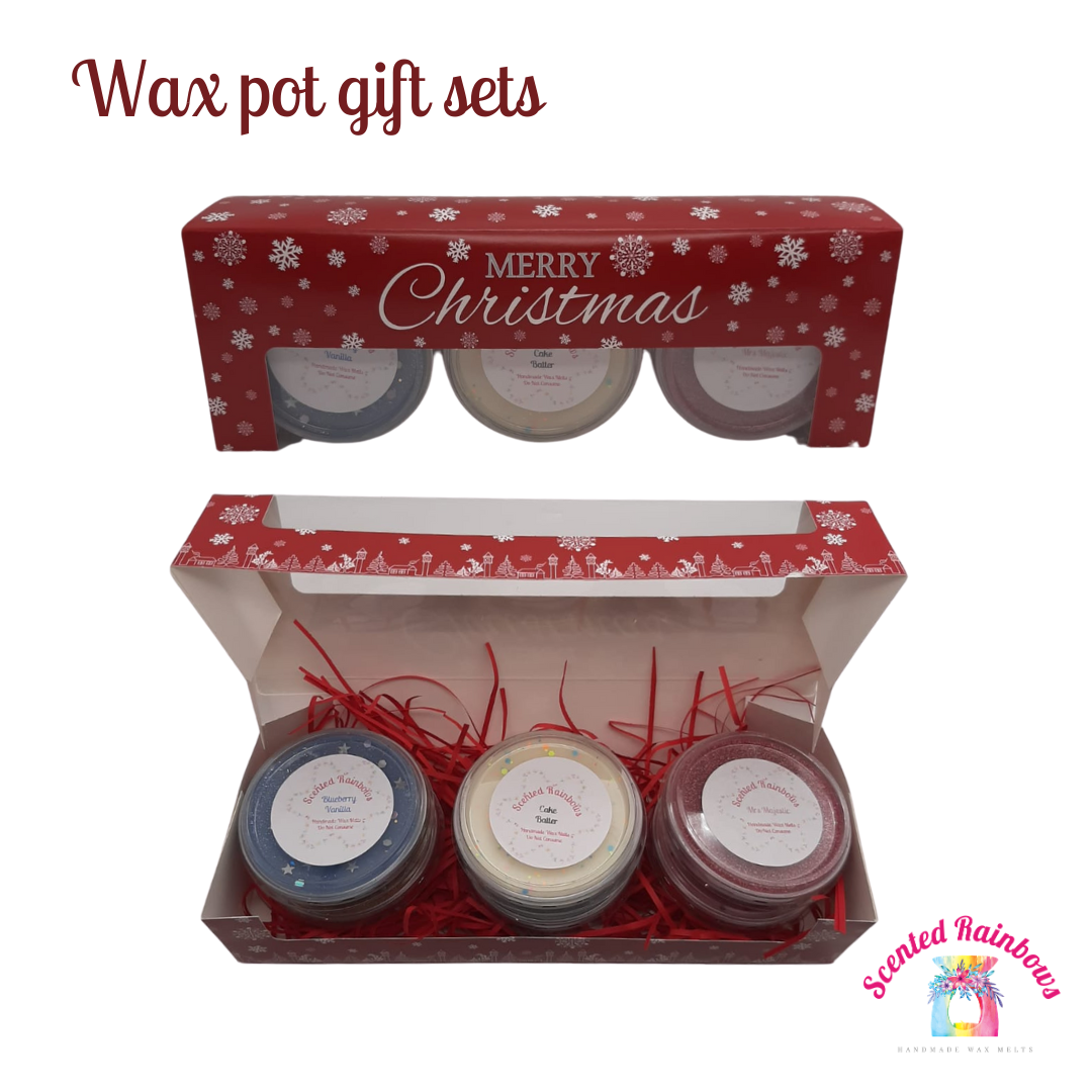 Christmas Scent Pot Gift Set