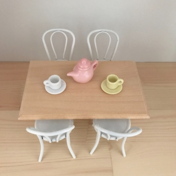 Wooden Farmhouse Table