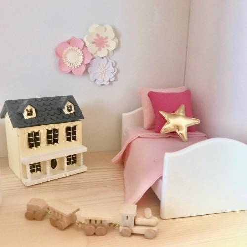 White Wooden Childs Single Bed