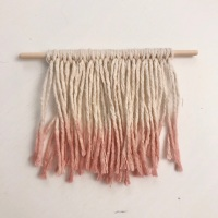 Wall Hanging (Natural & Dip Dye)