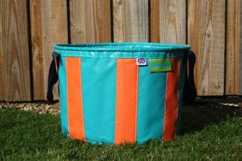 Aqua & Orange Large