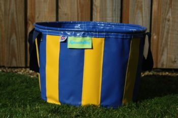 Navy Blue & Yellow Large