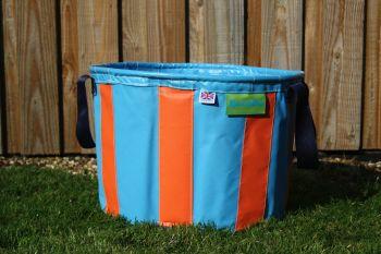Turquoise & Orange Large