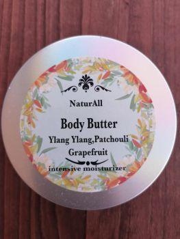 Body Butter Ylang Ylang  Patchouli  Grapefruit