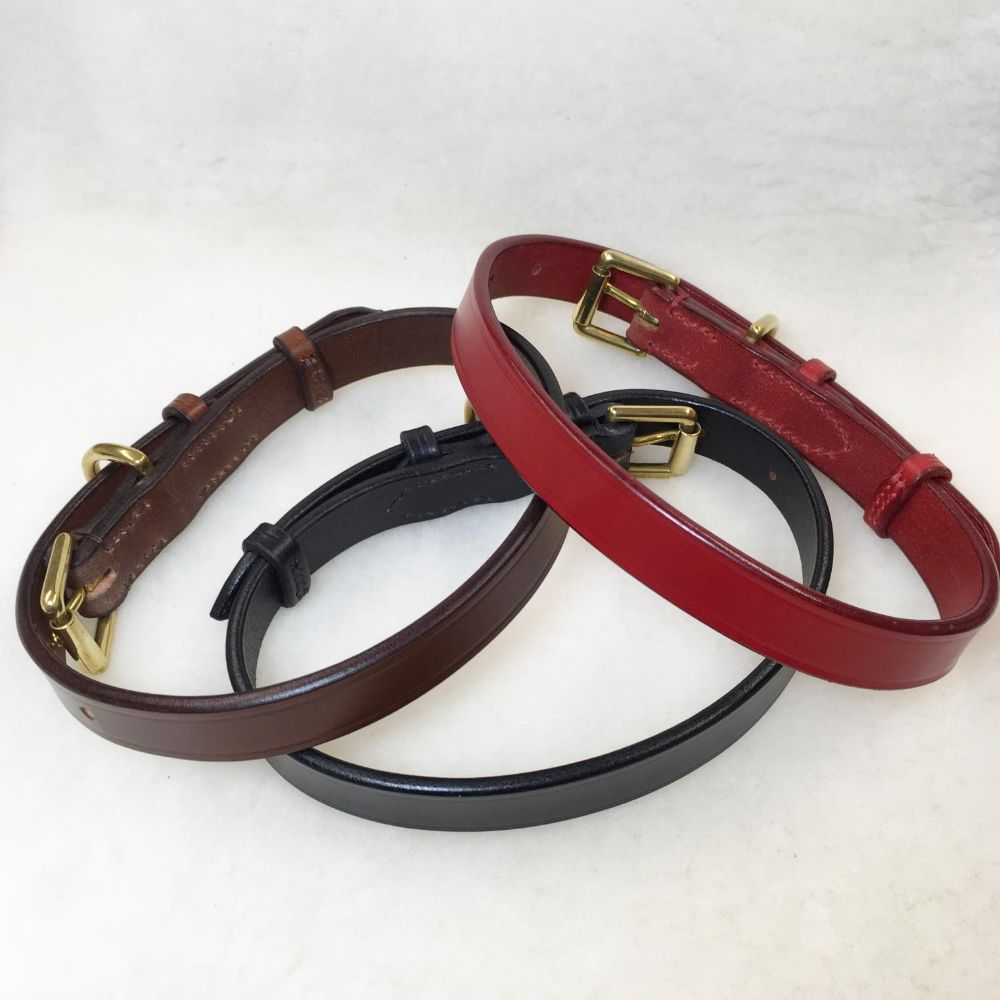<!-- 001 --> Leather Dog Collars and Leads