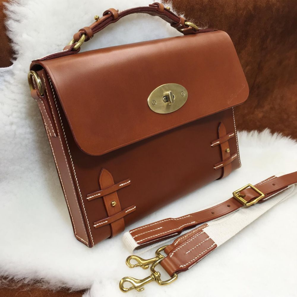 <!-- 003 --> Leather Bags, Cases and Hip Flasks