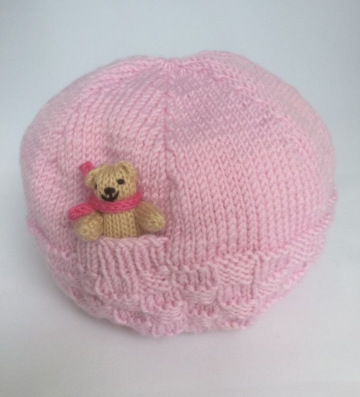 Basket Stitch Teddy Hats & Scarves