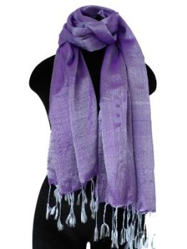 Moave Silk Scarf