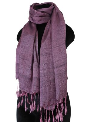 Dusty rose Silk Scarf