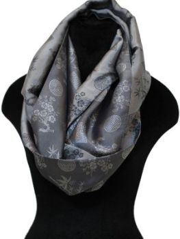 silver Infinity Scarf