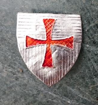 Templar Cross Escutcheon