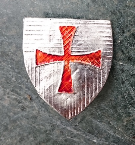 Templar Cross Escutcheon