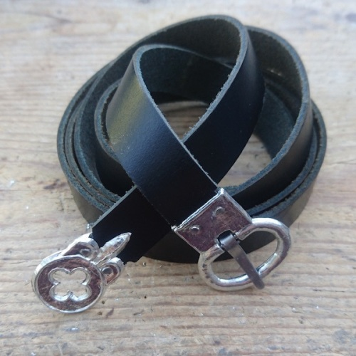 Plain Black Belt