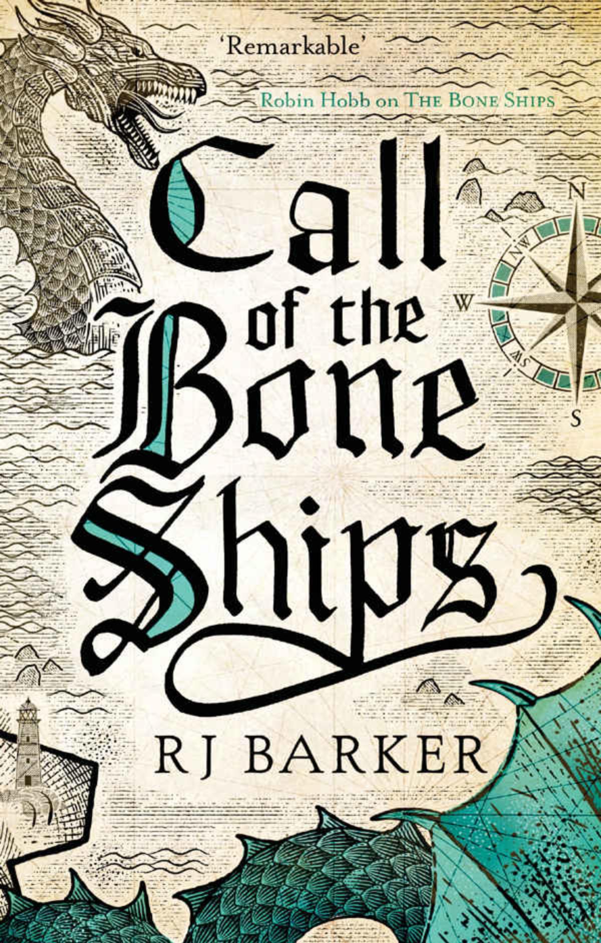 RJ Barker - Call of the Bone Ships - Cover
